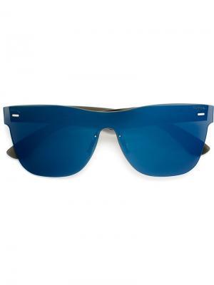 Солнцезащитные очки Tuttolente Classic Retrosuperfuture. Цвет: синий