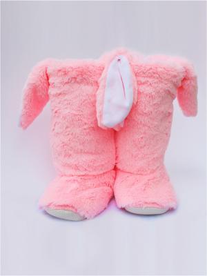 Тапочки домашние Зайки 35-37 98;Фиолетовый TAP MODA. Цвет: розовый