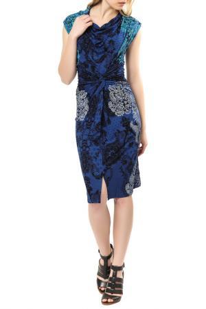 Платье Desigual. Цвет: navy