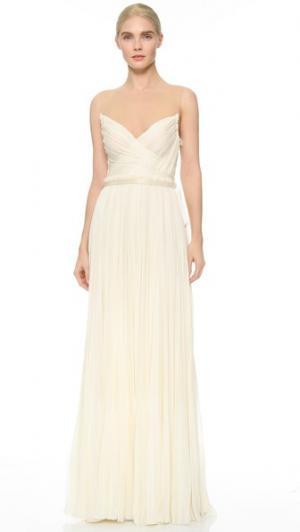 Вечернее платье Isadora J. Mendel. Цвет: античный