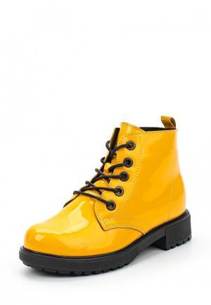 Ботинки Юничел. Цвет: желтый