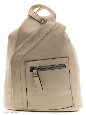 Рюкзак-сумка Malvinas. Цвет: белый, кремовый
