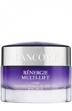 Дневной крем для всех типов кожи Rénergie Multi-Lift SPF 15 Lancome. Цвет: бесцветный