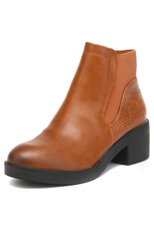 Ботинки Betsy. Цвет: рыжий