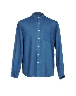 Pубашка BLUE JAPAN. Цвет: темно-синий