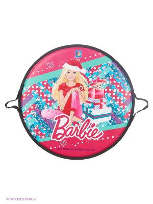 Ледянка,  52 см, круглая 1toy Barbie. Цвет: прозрачный