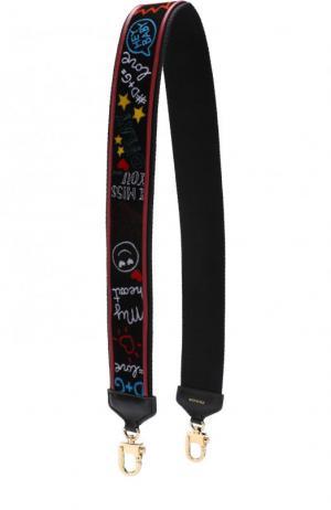 Ремень для сумки Dolce & Gabbana. Цвет: разноцветный