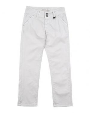Повседневные брюки ROŸ ROGER'S CHOICE. Цвет: светло-серый