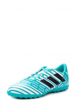 Шиповки adidas Performance. Цвет: бирюзовый