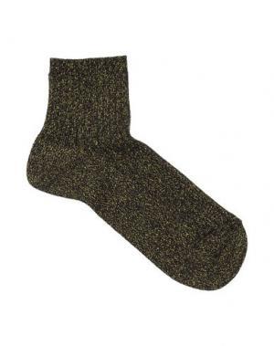 Короткие носки POLDER. Цвет: темно-зеленый