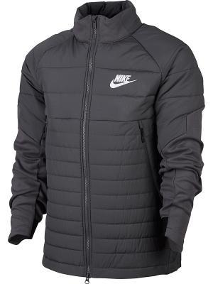 Куртка M NSW SYN FILL AV15 JKT Nike. Цвет: темно-серый