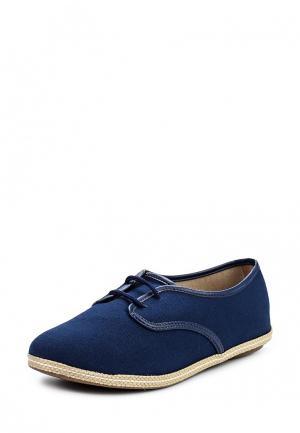 Ботинки Moleca. Цвет: синий