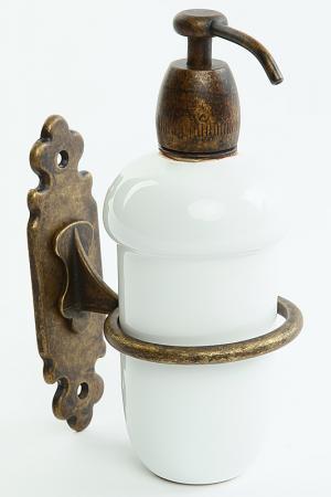 Дозатор для жидкого мыла Stilars. Цвет: бронза