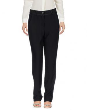 Повседневные брюки DIXIE. Цвет: черный