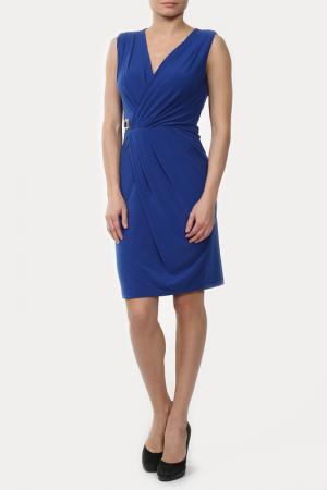 Платье Sabra. Цвет: синий