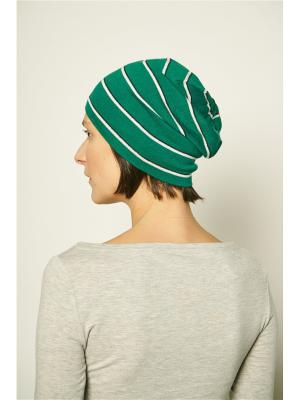 Шапка Check Ya Head. Цвет: зеленый