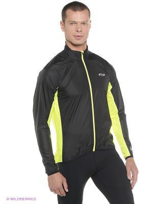 Куртка BBB. Цвет: черный, желтый