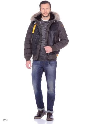 Пуховик GRIZZLY Parajumpers. Цвет: хаки