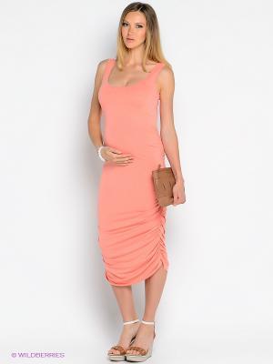 Платье Isabella Oliver. Цвет: коралловый