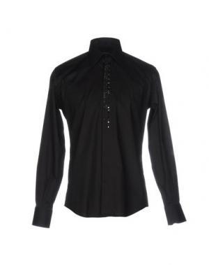 Pубашка GAI MATTIOLO. Цвет: черный