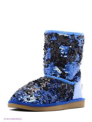 Угги Pegia. Цвет: синий
