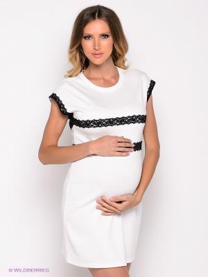 Платье Mamita. Цвет: белый, черный