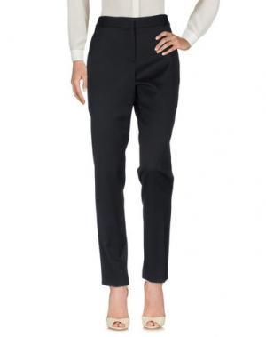 Повседневные брюки BURBERRY. Цвет: черный