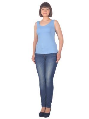 Топ Томилочка Мода ТМ. Цвет: голубой
