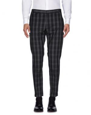 Повседневные брюки GREY DANIELE ALESSANDRINI. Цвет: черный