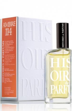 Парфюмерная вода Ambre 114 Histoires de Parfums. Цвет: бесцветный