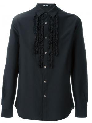 Рубашка с оборками Blk Dnm. Цвет: чёрный