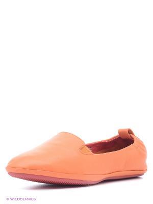 Балетки Covani. Цвет: оранжевый