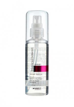 Сыворотка для окрашенных волос Brelil Professional. Цвет: белый
