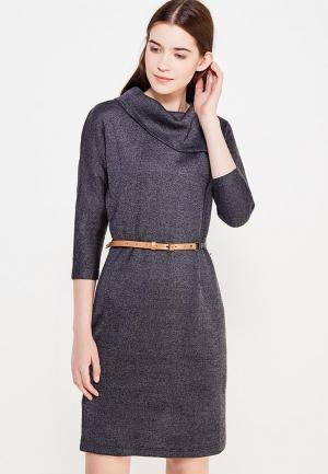 Платье Finn Flare. Цвет: серый