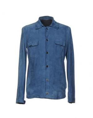 Pубашка SALVATORE SANTORO. Цвет: грифельно-синий