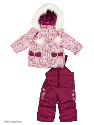 Комплект для девочки Rusland. Цвет: персиковый