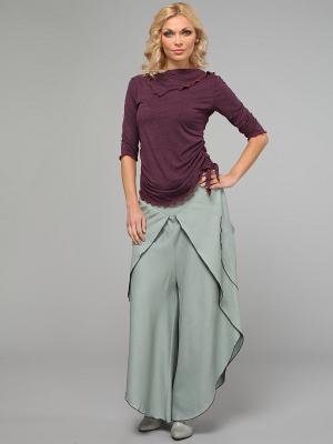 Блузка KATA BINSKA. Цвет: фиолетовый