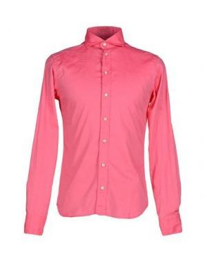 Pубашка EXIBIT. Цвет: светло-фиолетовый
