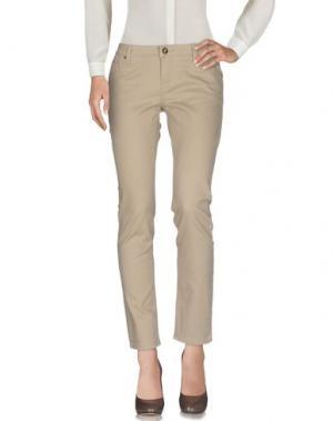 Повседневные брюки ARTIGLI. Цвет: бежевый
