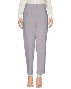 Повседневные брюки ANONYME DESIGNERS. Цвет: серый