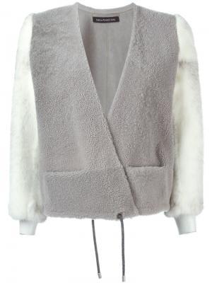 Куртка Vibration Inès & Maréchal. Цвет: серый