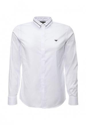 Рубашка Emporio Armani. Цвет: черный