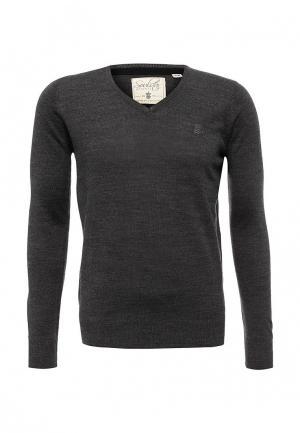 Пуловер Soulstar. Цвет: серый