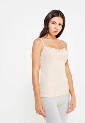 Рубашка домашняя Vis-a-Vis. Цвет: бежевый