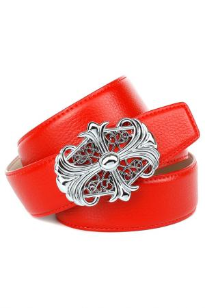 Belt Anthoni Crown. Цвет: red
