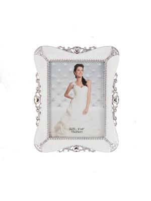 Фоторамка свадебная Русские подарки. Цвет: серебристый