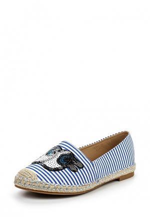 Эспадрильи Sweet Shoes. Цвет: синий