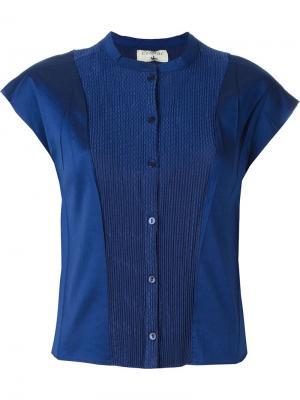 Рубашка с панельным дизайном Cotélac. Цвет: синий