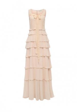 Платье Tresophie. Цвет: бежевый