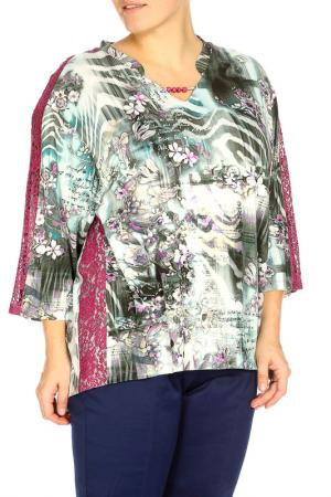 Блуза Terra. Цвет: серый